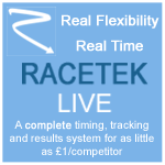 Racetek - race timing and tracking